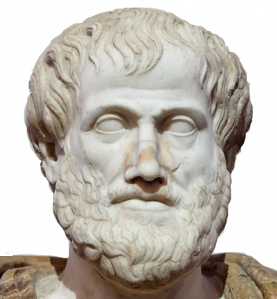 Nicomachean Ethics, Aristotle (bust)