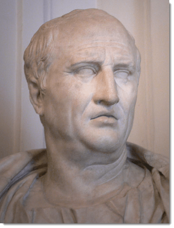 Cicero, the Latin guide to our Catholic homeschool curriculum.