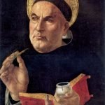 St. Thomas Aquinas, author of the Summa Theologica