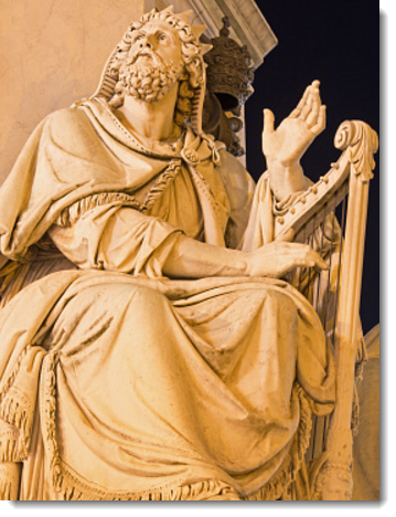 King David, a Jewish light for the classical Catholic curriculum.