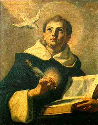 St. Thomas Aquinas, patron saint of students
