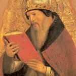Painting of St. Augustine.