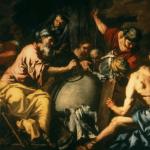 Abraham teaching the Egyptians