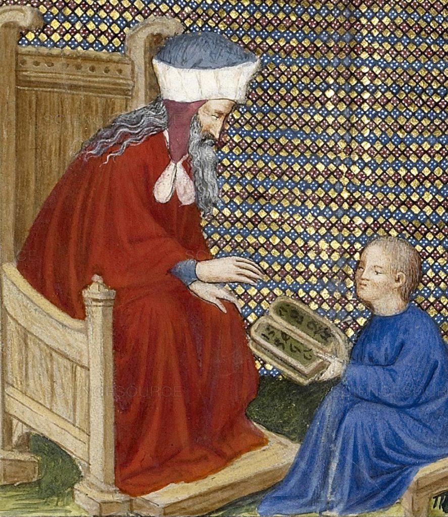 Boethius Teaches Arithmetic