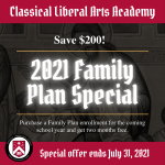 2021 CLAA Family Plan Special