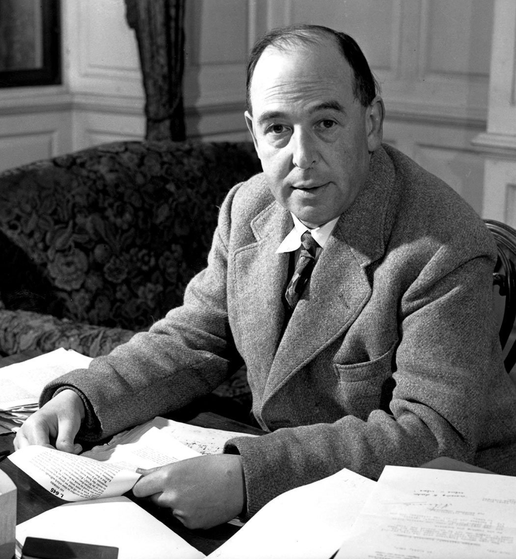 Image of C.S. Lewis for the Classical Liberal Arts Academy's English Composition course.