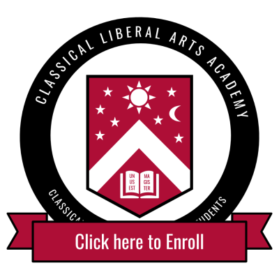 Enrollment button for Classical Liberal Arts Academy