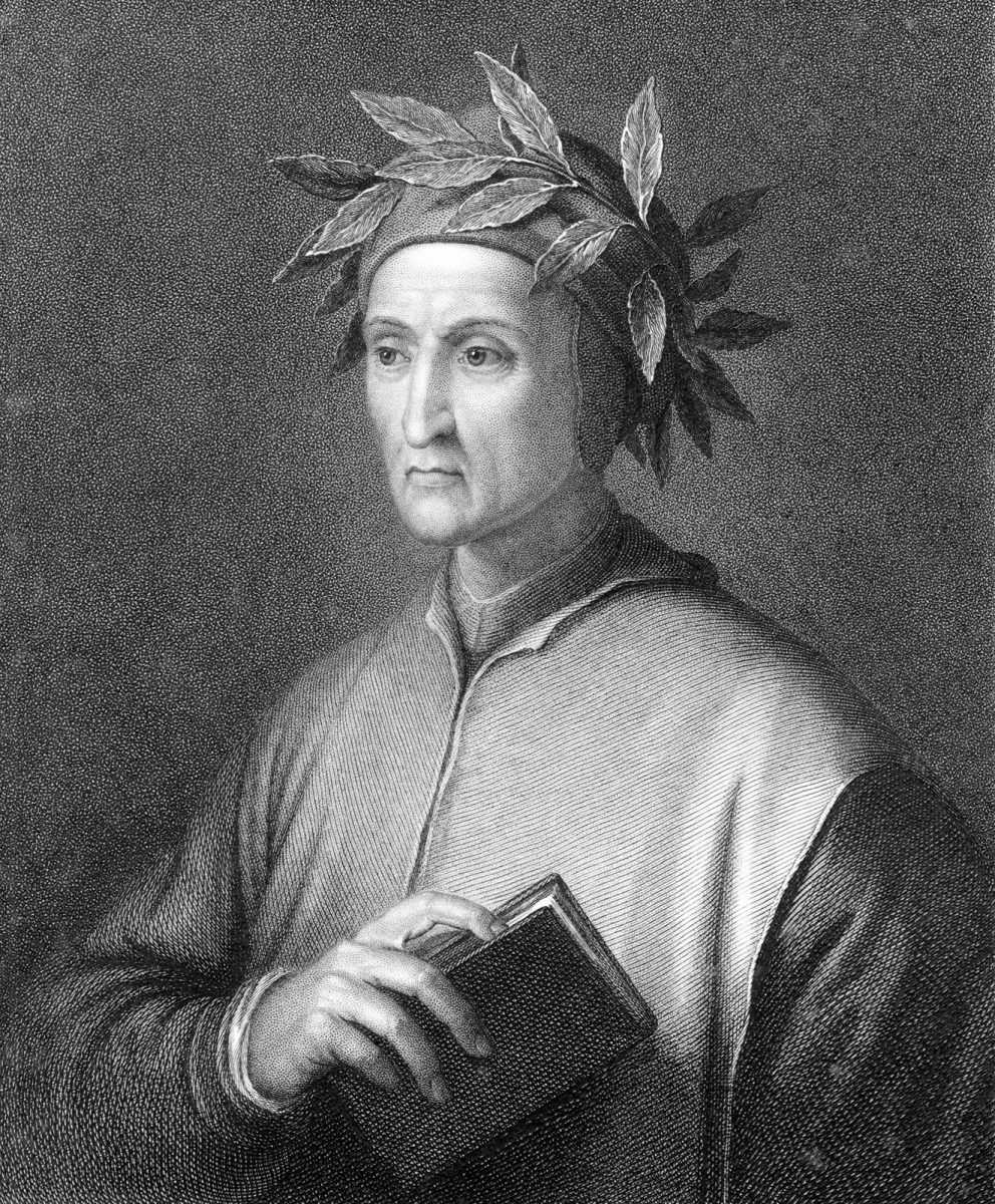 An image of Dante Alighieri for the Classical Liberal Arts Academy's English Composition course.