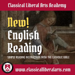 Study English Reading in the Classical Liberal Arts Academy
