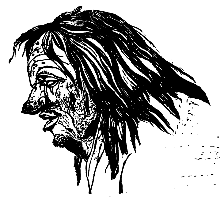 The Filthy man in Theophrastus' Characters