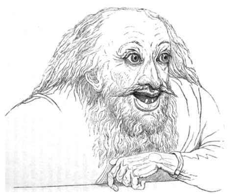 Picture of the Sordid man in Theophrastus Characters