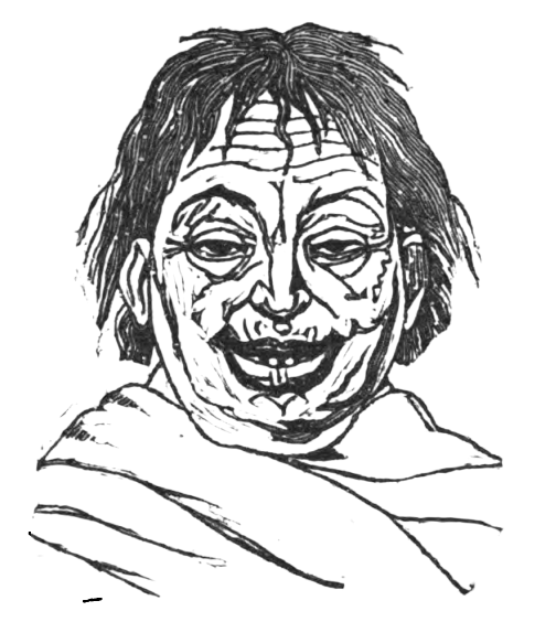 Picture of the Garrulous from Theophrastus' Characters