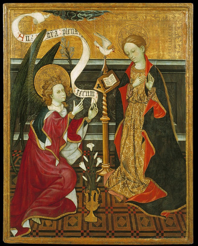 Image of the Annunciation, the focus of the Novena of Impossible Requests