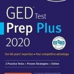 A GED test prep book