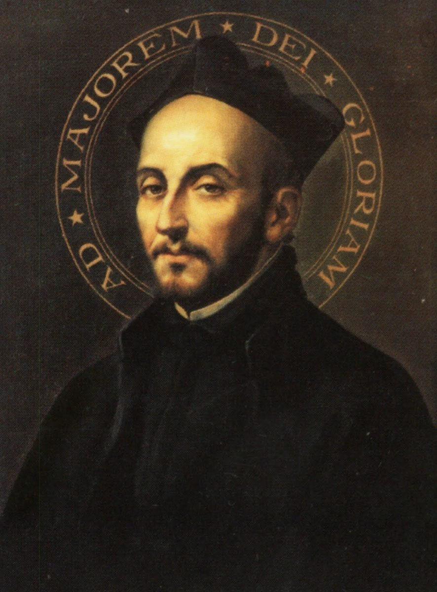 Portrait of St. Ignatius of Loyola