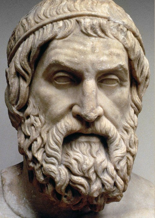 An image of Sophocles for the Classical Liberal Arts Academy's English Composition course.