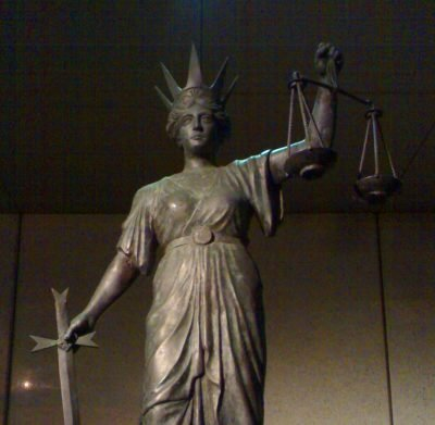 Themis, the goddess of justice